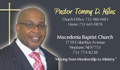 thanks - Pastor Business Cards