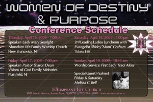 Women of Destiny & Purpose Conference