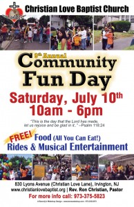 CLBC Community Fun Day poster