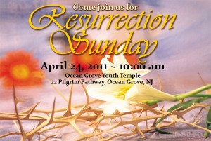 Resurrection Sunday banner