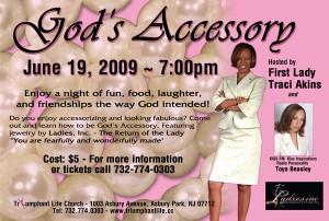 TLC God's Accessory - Women's Gathering