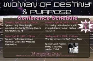Women of Destiny & Purpose Conference