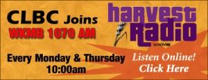 Harvest Radio promo banner