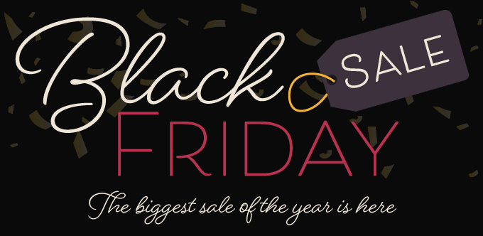 Shop Black Friday Sales all weekend long