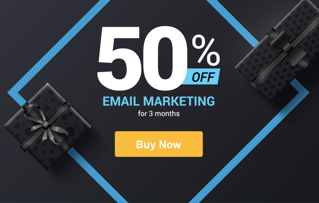 Save 50% off Email Marketing with Constant Contact