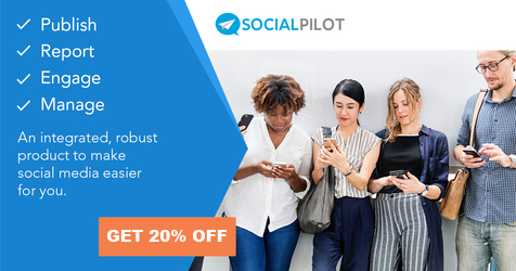 Get 20% off Social Pilot