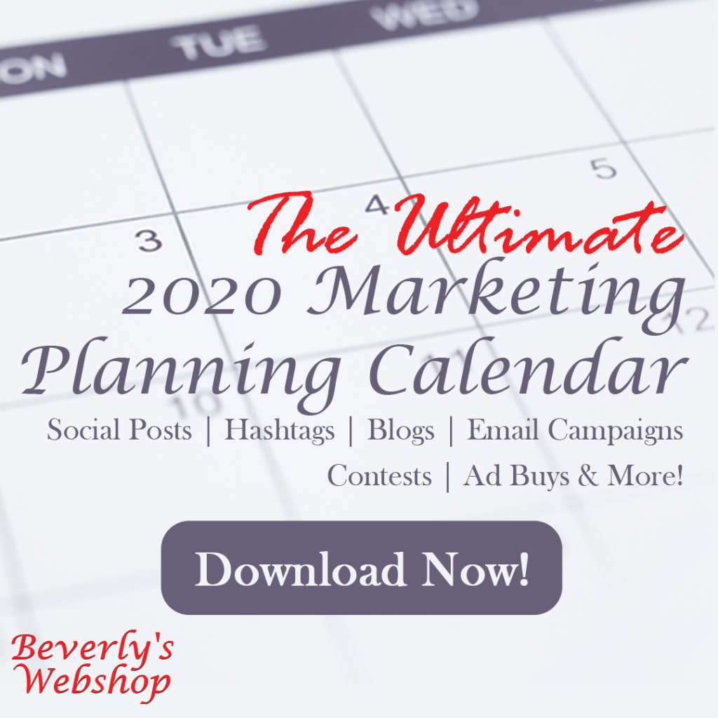 The Ultimate 2020 Planning Calendar
