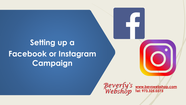 How to setup Facebook and Instagram Ads